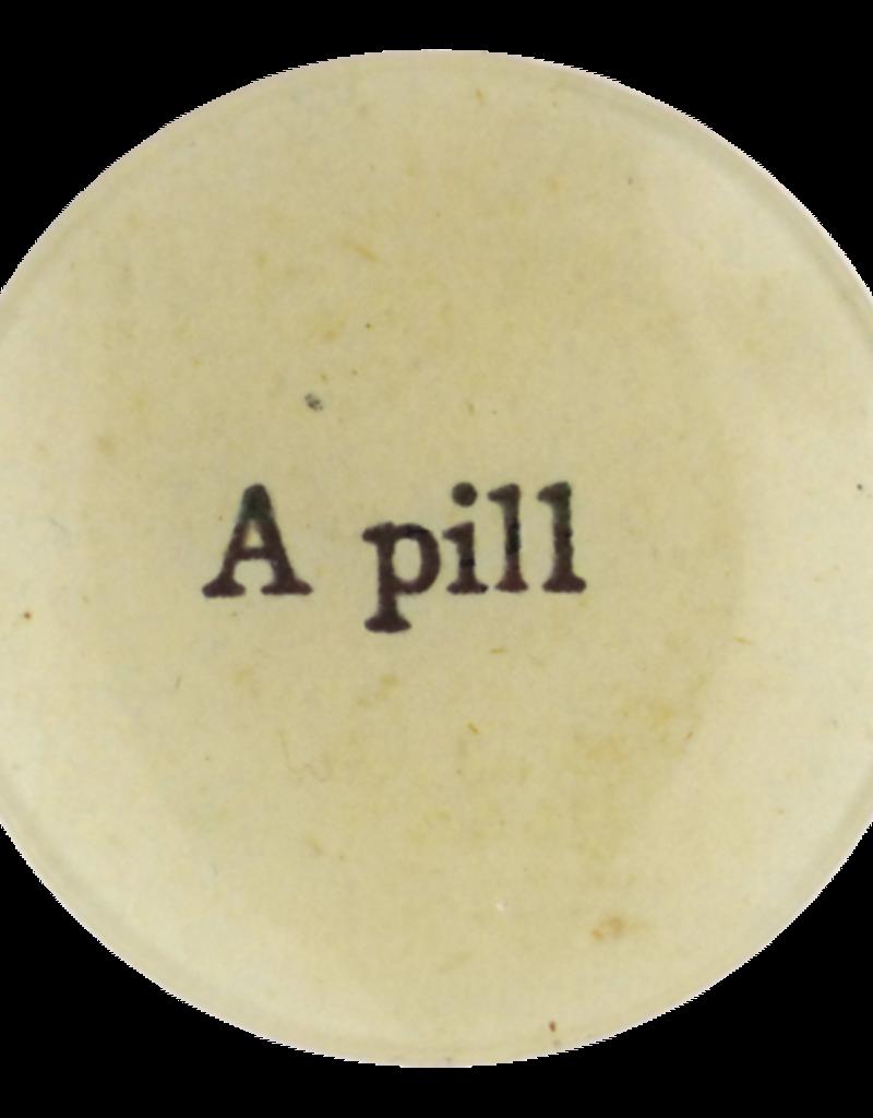 JOHN DERIAN A Pill Round Plate