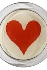 JOHN DERIAN Heart (Card Suits) Coaster