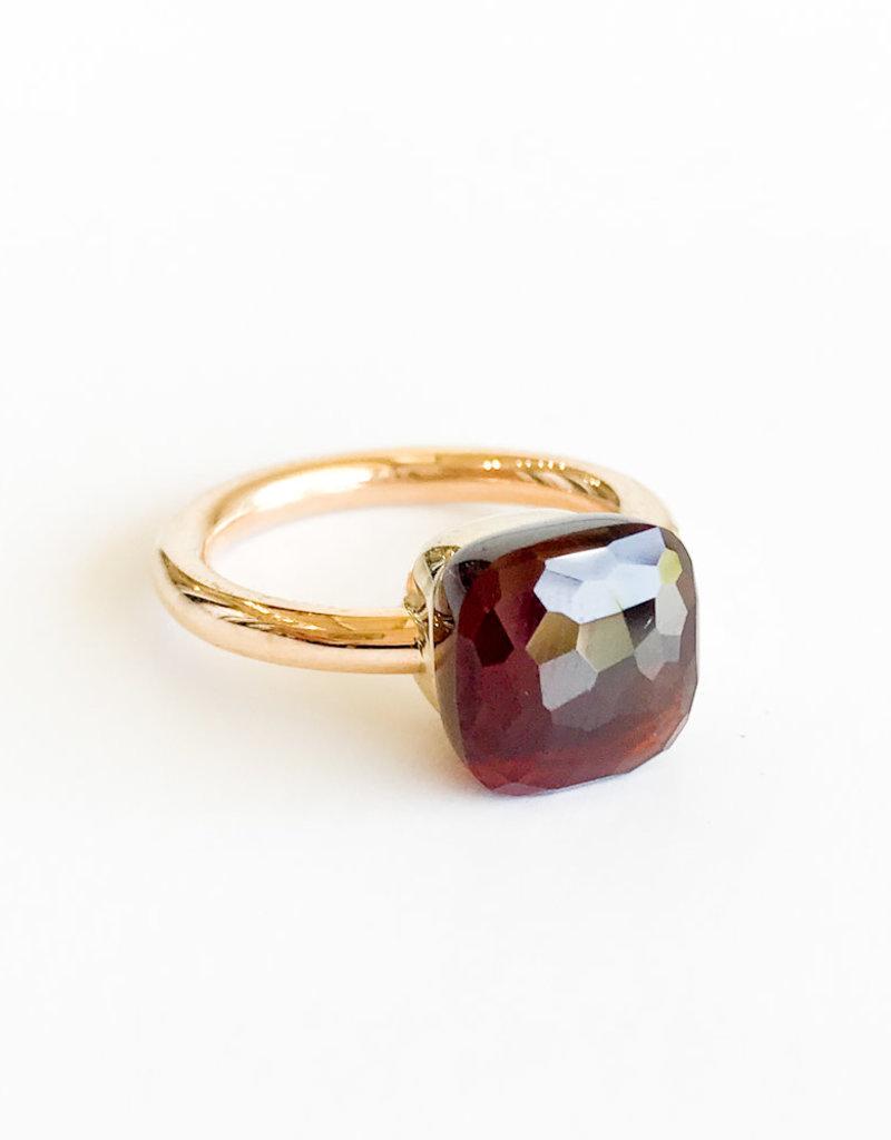 POMELLATO Garnet Nudo Ring