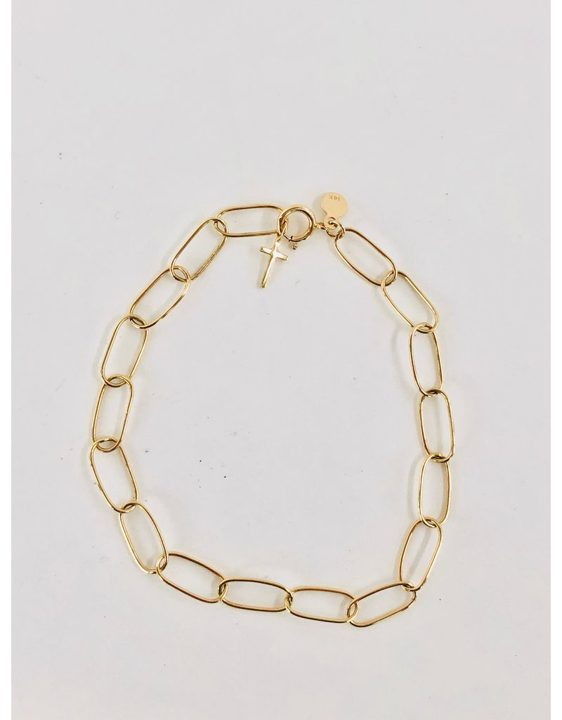 SHANNON JOHNSON Oval of Love Bracelet