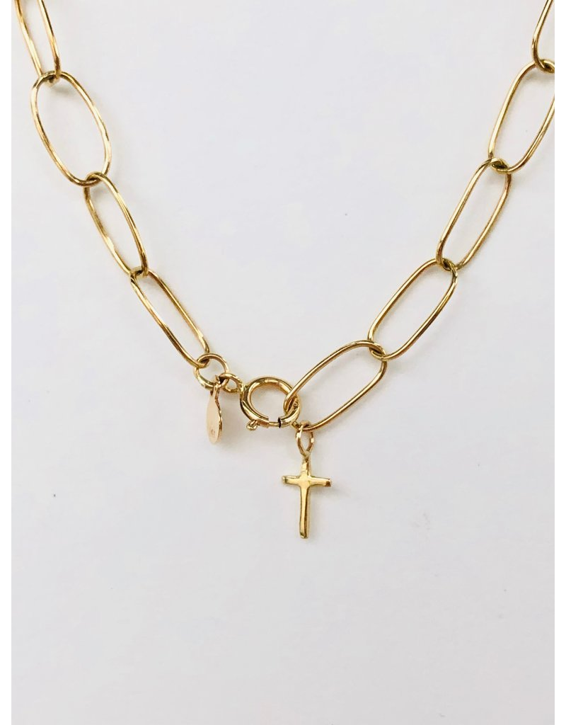 SHANNON JOHNSON Oval of Love Necklace