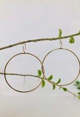 SHANNON JOHNSON Gold Signature Hoops