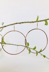 SHANNON JOHNSON 14K Rose Gold Signature Hoops
