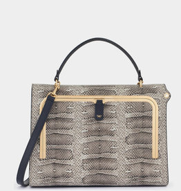 ANYA HINDMARCH Postbox Bag - Natural Water Snake