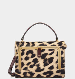 ANYA HINDMARCH Postbox Bag - Leopard Calf