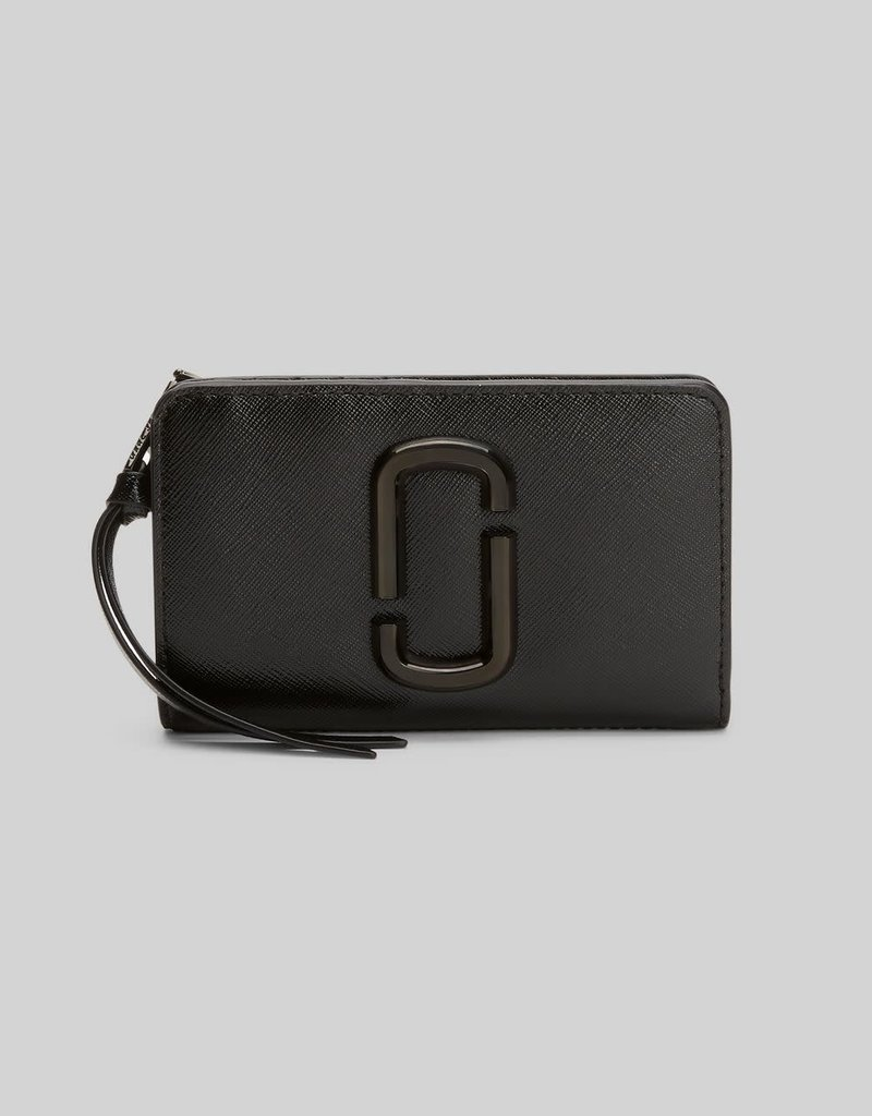 MARC JACOBS Snapshot DTM Compact Wallet - Black