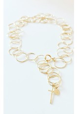 SHANNON JOHNSON Circle of Love Necklace