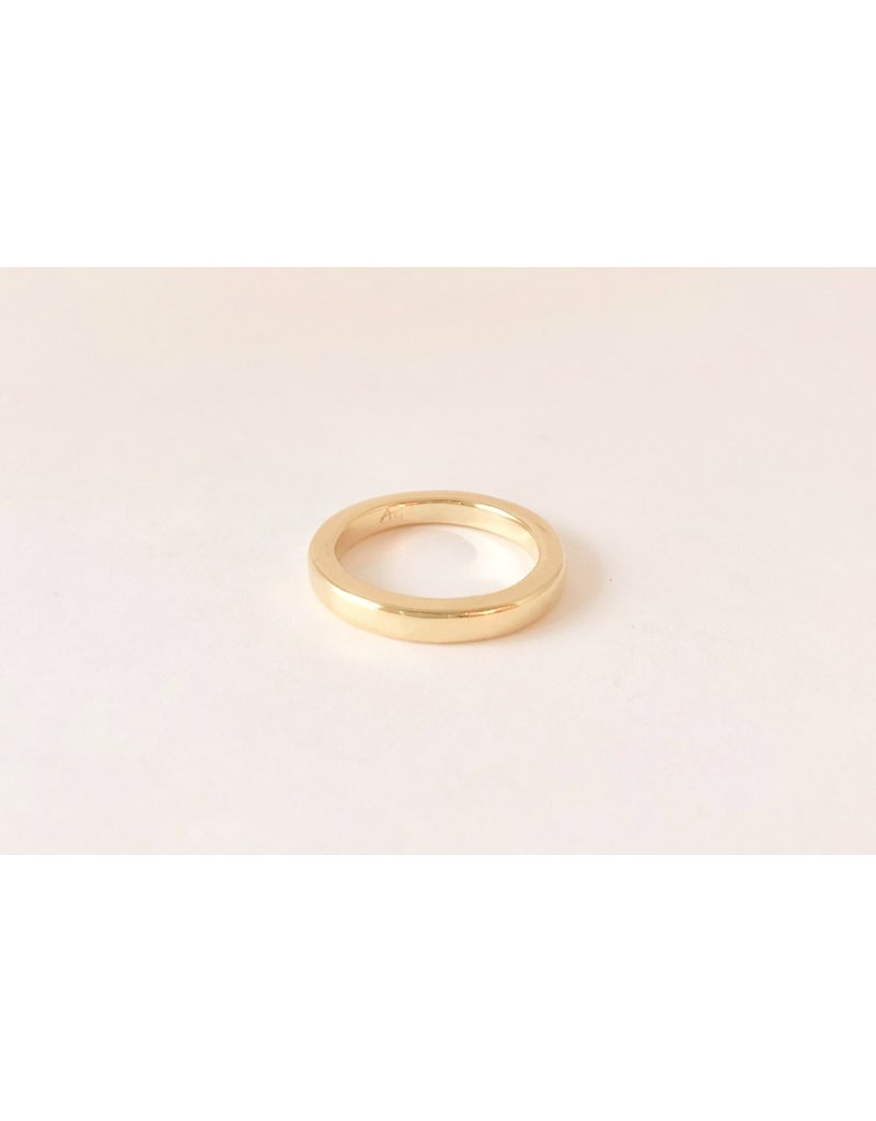 SHANNON JOHNSON 18K Tall and Thin Band Ring