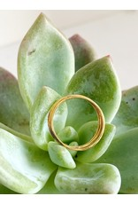 SHANNON JOHNSON Set of 3 Thin Rings - Yellow Gold