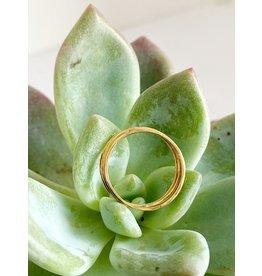 SHANNON JOHNSON Set of 3 Thin Rings - Yellow Gold