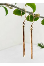 SHANNON JOHNSON Gold Matchstick Earring