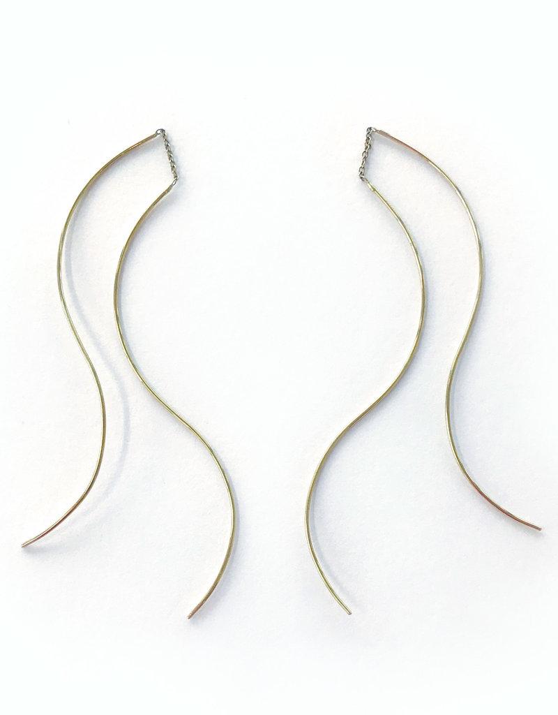 SHAESBY Extra Long Curved Thread Thru