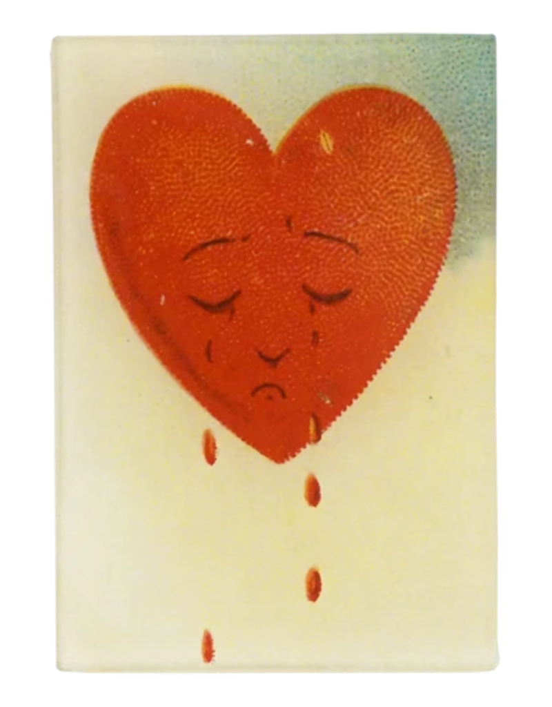 JOHN DERIAN Crying Heart Tiny Rectangle Tray