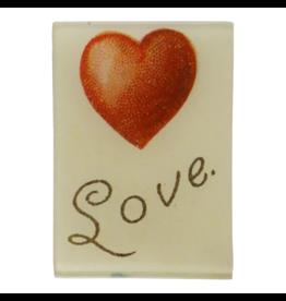 JOHN DERIAN With Love Tray 3.5 x 5