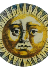 JOHN DERIAN Sun Fountain Face Round Plate