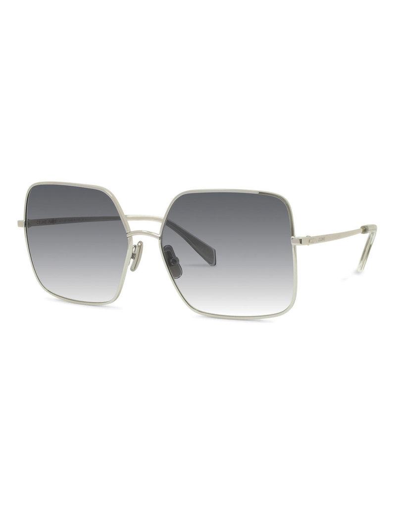 CELINE 40078U - Silver/Smoke