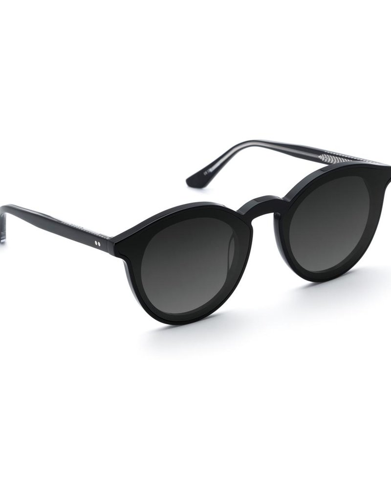 KREWE Collins Nylon - Black + Black and Crystal