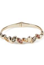 ALEXIS BITTAR Navette Crystal Brake Hinge Bracelet