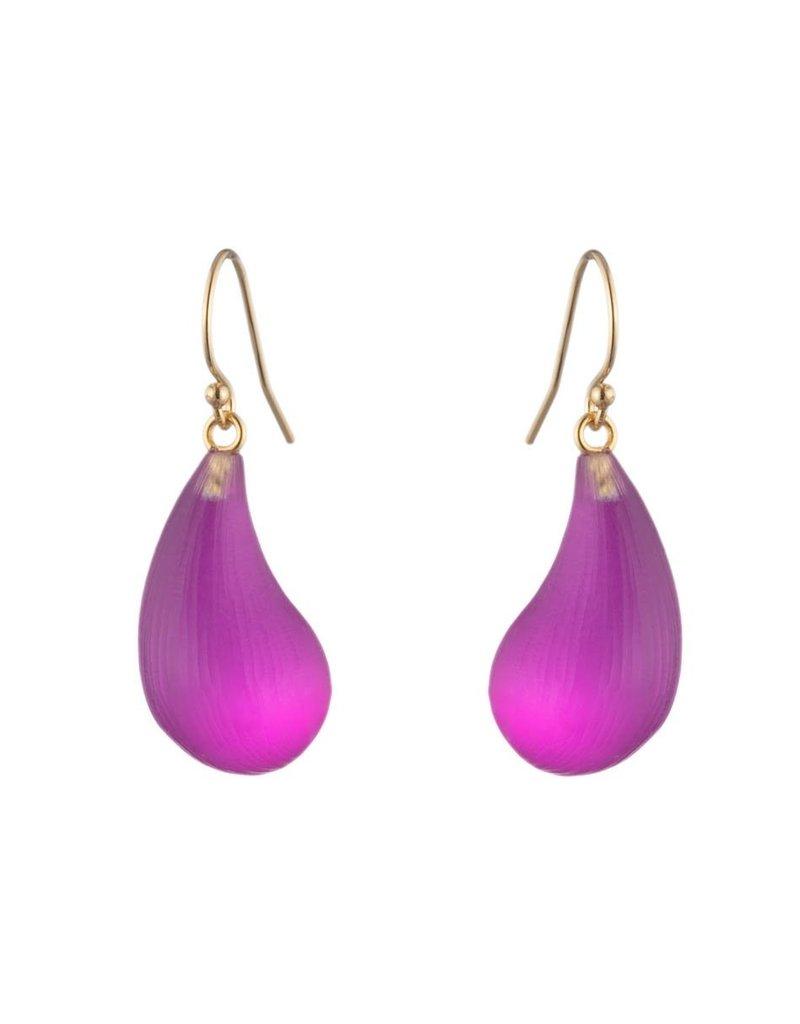 ALEXIS BITTAR Dewdrop Earrings - Fuschia