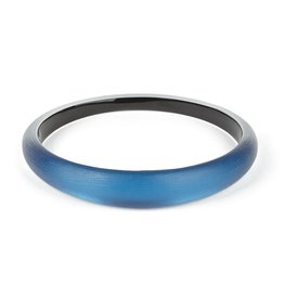 ALEXIS BITTAR Skinny Tapered Bangle - Pacific Blue