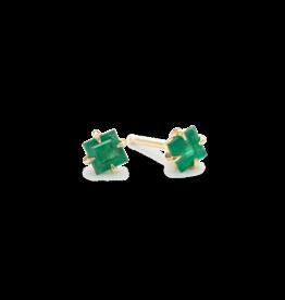ILA Primary Princess Emerald Stud