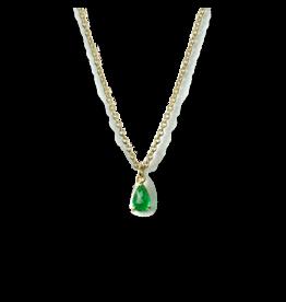 ILA Tellifer Emerald Necklace