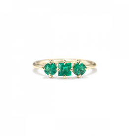 ILA Trilogy Emerald Ring