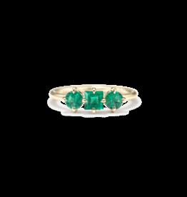 ILA Trilogy Emerald Ring