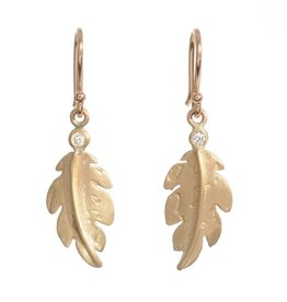 PAGE SARGISSON Small Feather Earrings