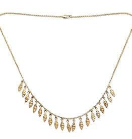 PAGE SARGISSON Amalia Chain with Textured Charms