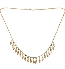 PAGE SARGISSON Amalia Chain with Textured Charms