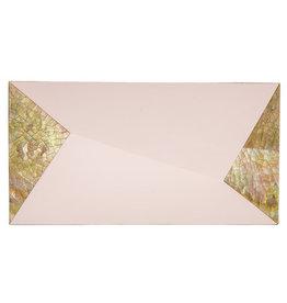 RAFE Melissa Minaudiere - Pink & Gold