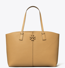 TORY BURCH Mcgraw Small Tote - Tiramisu