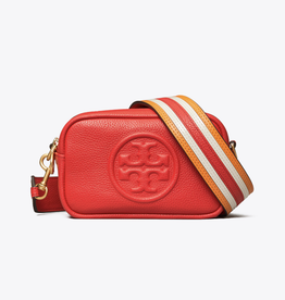 TORY BURCH Perry Bombe Mini Bag - Brilliant Red