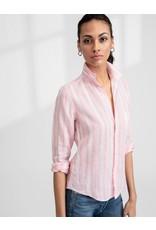 FRANK & EILEEN Barry - Button Down Pink Multi Stripe Linen