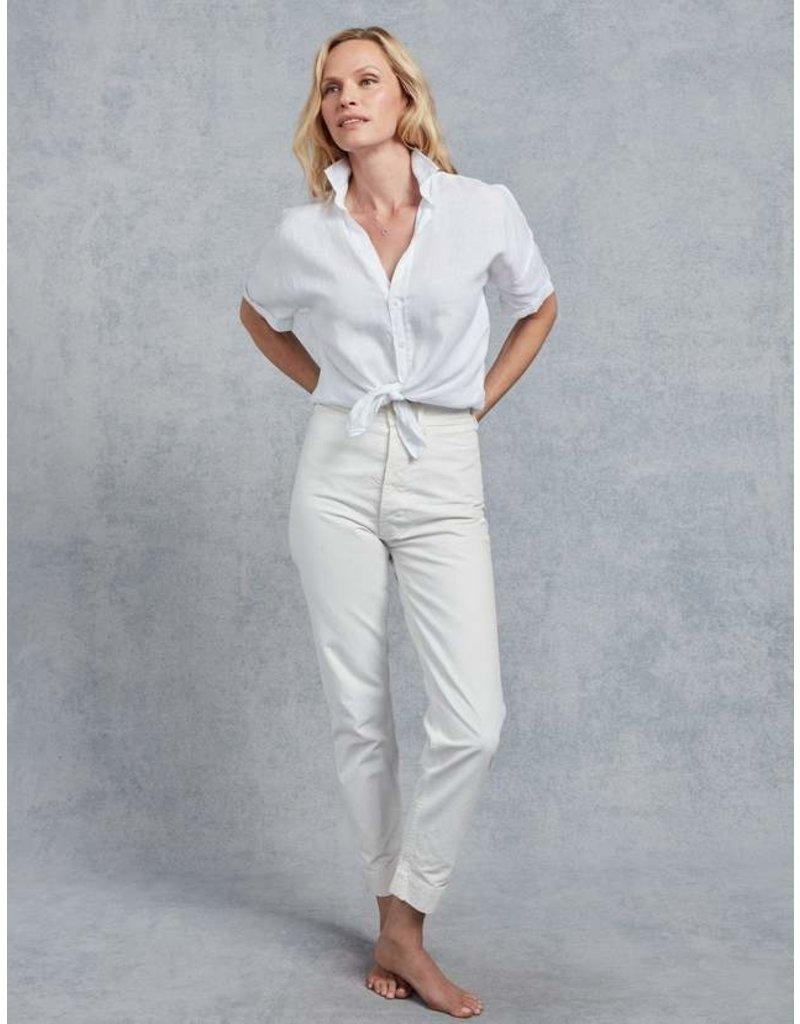 FRANK & EILEEN Rose - White Linen