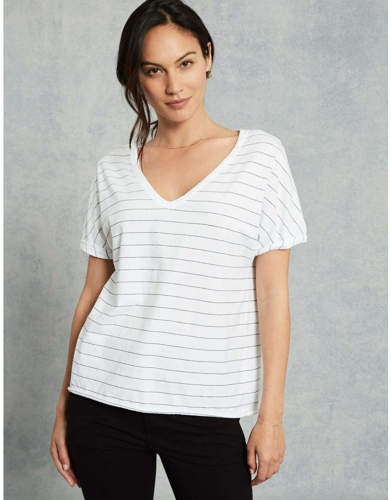 TEE LAB Deep V-Neck Tee -