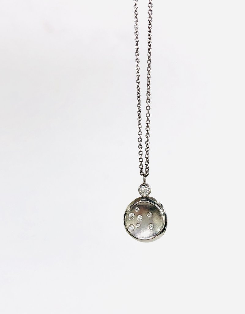 SHAESBY Luna Freeform Diamond Necklace
