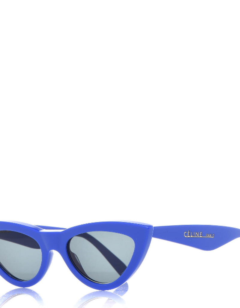 CELINE 40019I - Blue Cat Eye
