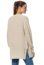 360 SWEATER Organic Cotton Rose Sweater - Hemp
