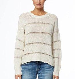 360 SWEATER Simone Sweater - Optic White