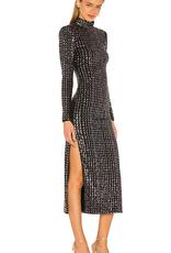 SMYTHE Sequin Side Slit Dress