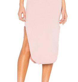 TEE LAB Long Fleece Skirt - Dirty Ballerina