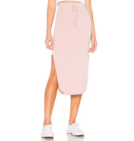 TEE LAB Long Fleece Skirt - Dirty Ballerina