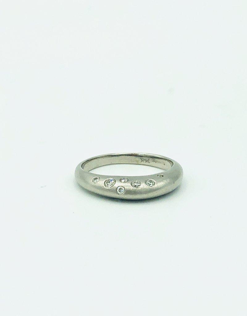SHAESBY Jasmine Bridal Ring - White Gold