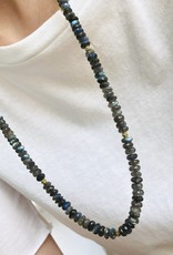 LAUREN K Labradorite Bead Necklace