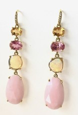 LAUREN K Citrine, Tourmaline & Opal Joyce Earrings