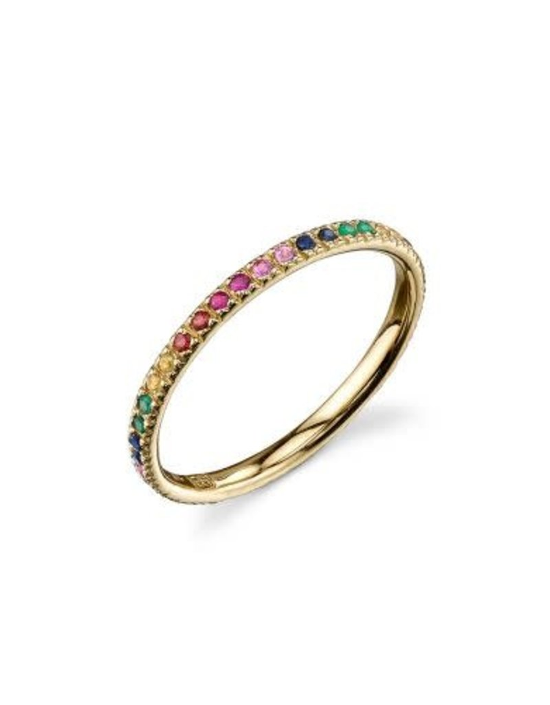 SYDNEY EVAN Rainbow Eternity Band Ring