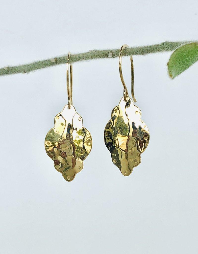 SHANNON JOHNSON Medallion Dangle Earrings