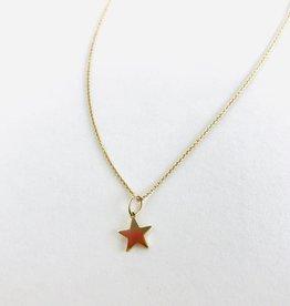 SYDNEY EVAN Gold Star Necklace